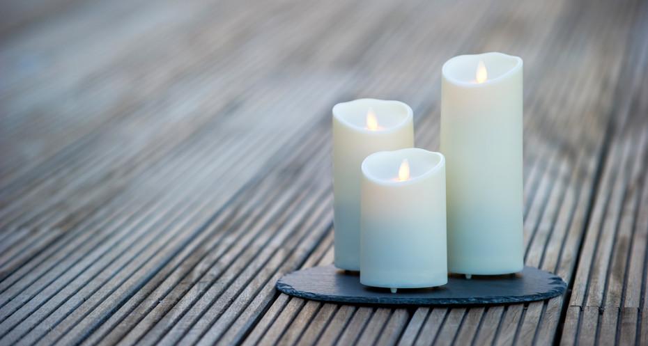 luminara die besten led echtwachskerzen. Black Bedroom Furniture Sets. Home Design Ideas