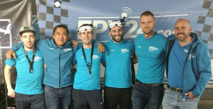 2. Platz beim Conrad Electronic Drone Air Race Bonn