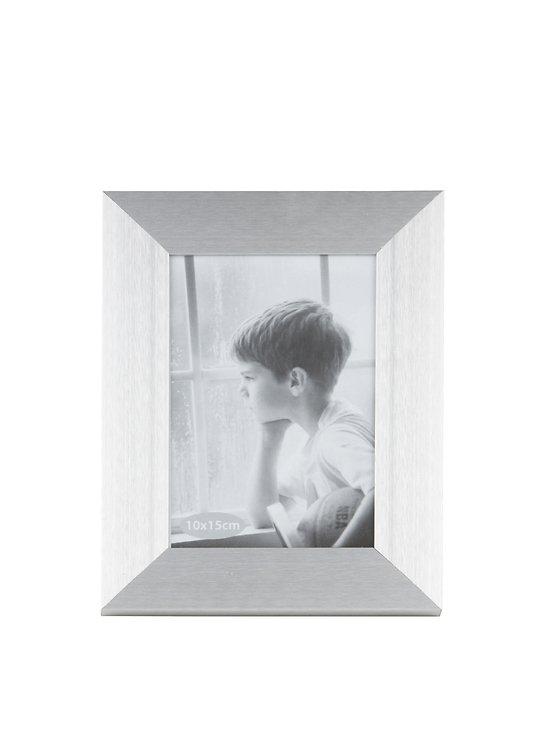 KJ Collection Bilderrahmen Aluminium/Glas 15 x 10cm - Pic 1