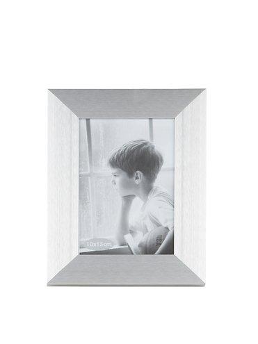 KJ Collection Bilderrahmen Aluminium/Glas 15 x 10cm