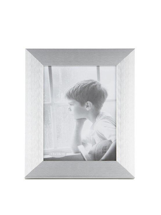 KJ Collection Bilderrahmen Aluminium/Glas 18 x 13cm - Pic 1