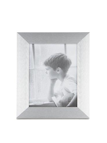 KJ Collection Bilderrahmen Aluminium/Glas 18 x 13cm