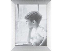 KJ Collection Bilderrahmen Aluminium/Glas 26 x 35cm