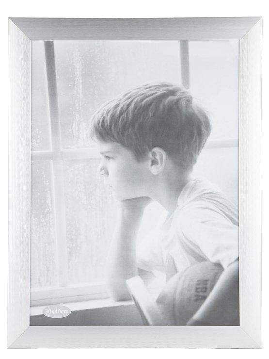 KJ Collection Bilderrahmen Aluminium/Glas 35 x 45cm - Pic 1