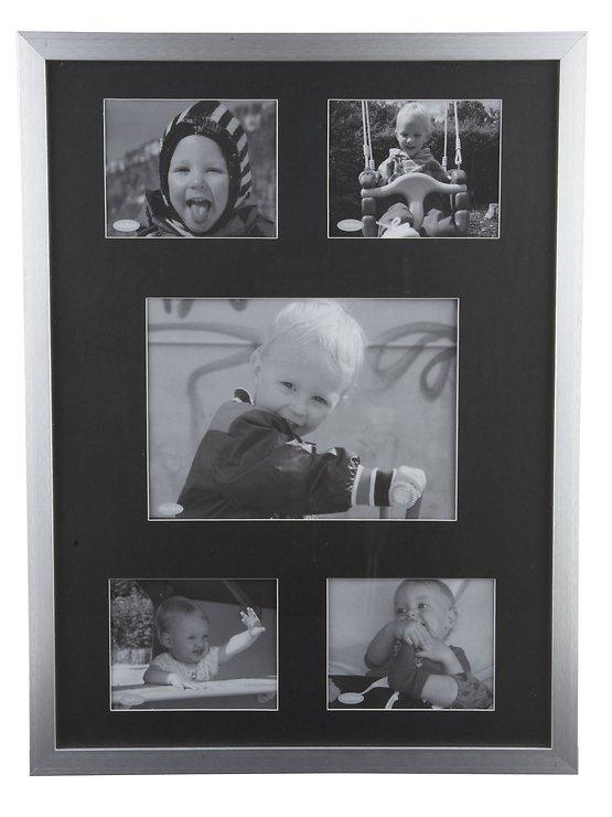 KJ Collection Bilderrahmen Collage Aluminum/Glass 31 x 42cm - Pic 1