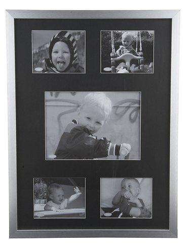 KJ Collection Bilderrahmen Collage Aluminum/Glass 31 x 42cm