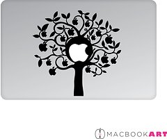 MacBook Art Laptop Aufkleber Dream Tree