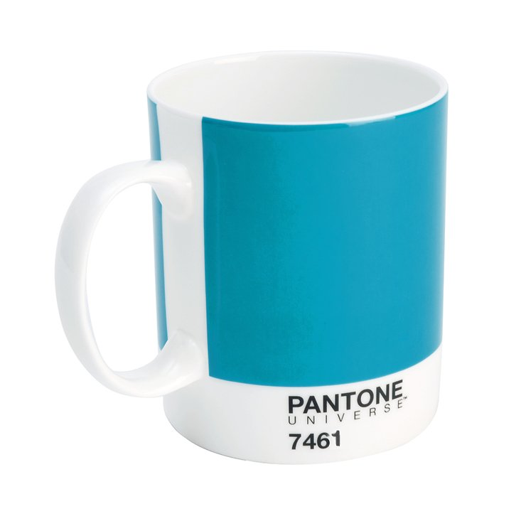 pantone universe becher 375 ml printers blue 7461 bone. Black Bedroom Furniture Sets. Home Design Ideas