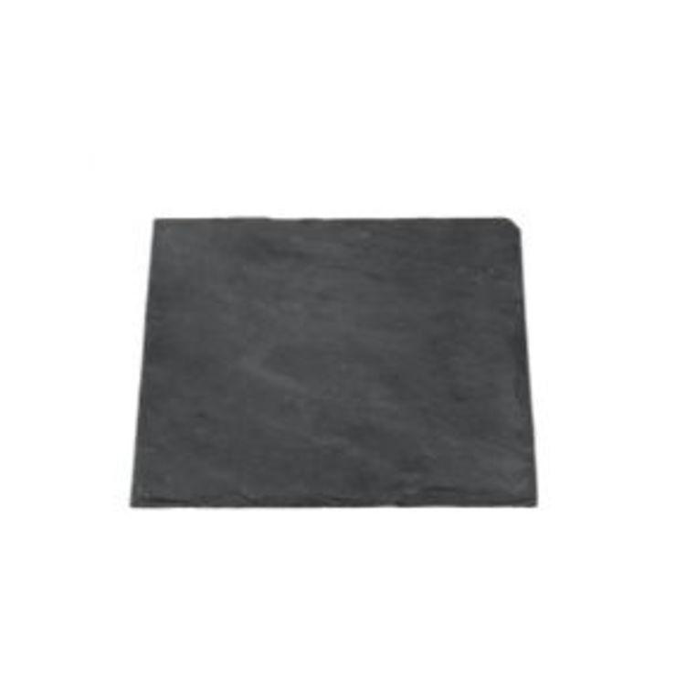 Broste Schieferplatte eckig 20 x 20 cm - Pic 1