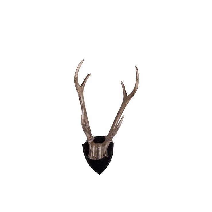 Broste Dekogeweih Lyn aus Polyresin 15 x 30cm - Pic 1