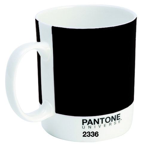 pantone universe becher 375 ml graphite 2336 bone china. Black Bedroom Furniture Sets. Home Design Ideas