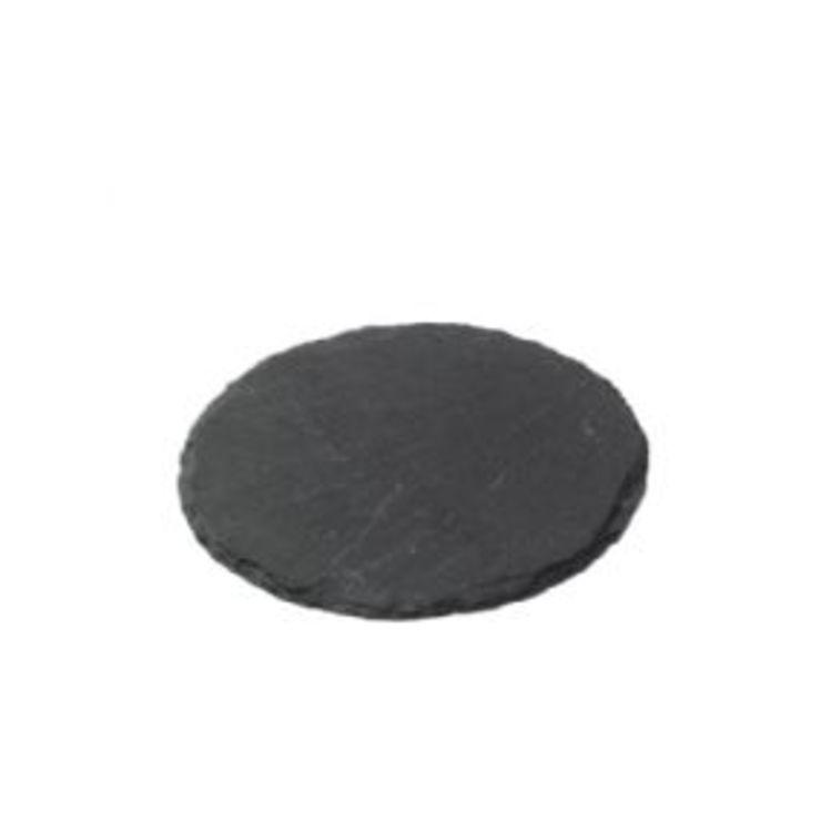 Broste Schieferplatte rund 12cm - Pic 1