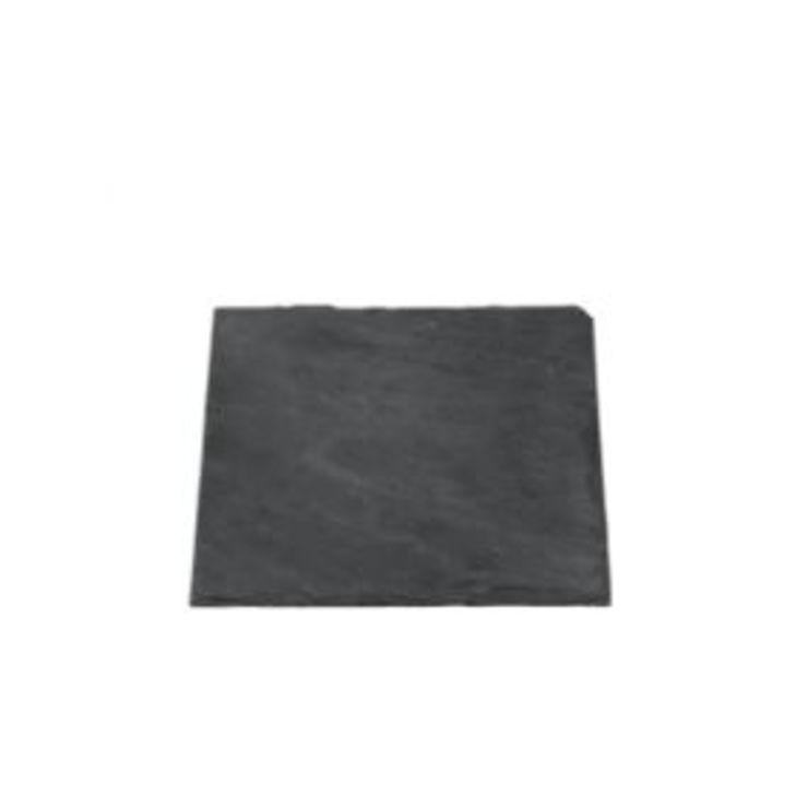 Broste Schieferplatte eckig 15 x 15 cm - Pic 1