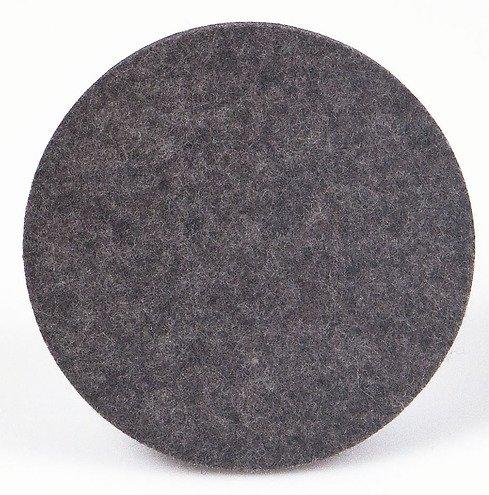 hey sign untersetzer filz rund 9 cm anthrazit kaufen. Black Bedroom Furniture Sets. Home Design Ideas