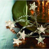Sirius Lichterkette Melanie Star klar 50 LED 7,35m transparent