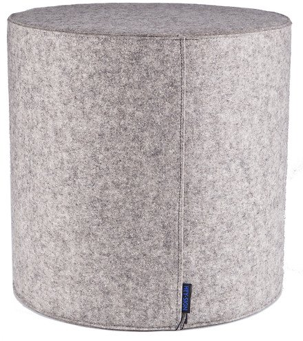 hey sign sitzkissen rondo filz 40 x 40 cm hellmeliert. Black Bedroom Furniture Sets. Home Design Ideas