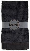 Zone Handtuch Confetti 100x50cm schwarz