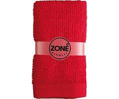 Zone Handtuch Confetti 100x50cm rot