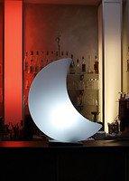 8Seasons Leuchtmond Shining Moon Mini 40cm weiß außen