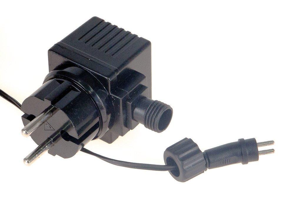 Edelman Büschellichterkette 576 LED außen 6m schwarz - Pic 5
