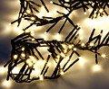 Edelman Büschellichterkette 576 LED außen 6m schwarz - Thumbnail 3