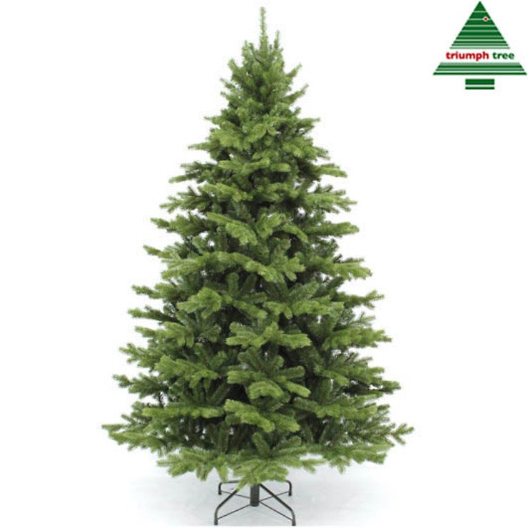 Triumph Tree Künstlicher Weihnachtsbaum Nordmanntanne Höhe 1,55m x 1,12m - Pic 1