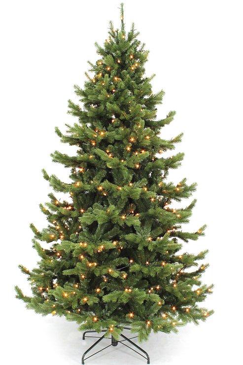 Triumph Tree Künstlicher Weihnachtsbaum Nordmanntanne Höhe 1,55m x 1,12m - Pic 2
