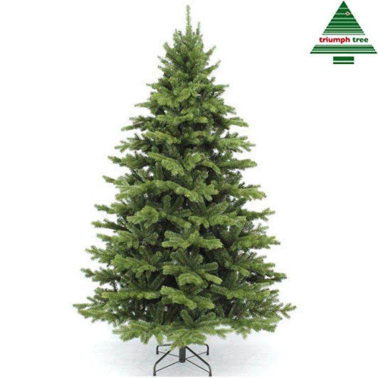 Triumph Tree Künstlicher Weihnachtsbaum Nordmanntanne Höhe 2,15m, x 1,35m - Pic 1