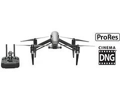 DJI Inspire 2 RAW ProRes + CinemaDNG