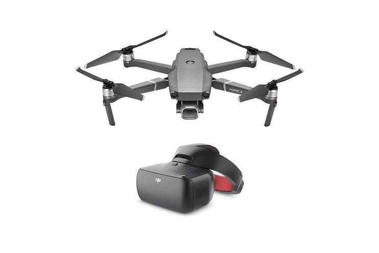 Quadcopter Mavic 2 Pro mit DJI Goggles VR-Brille