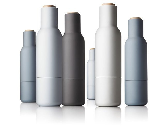 menu salz und pfefferm hle bottle grinder 2er set grau offwhite kaufen. Black Bedroom Furniture Sets. Home Design Ideas