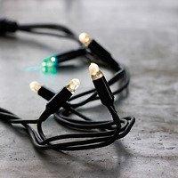 Sirius Lichterkette Tech-Line Start Set 45 LED warmweiß 230V 4,5m schwarz
