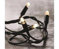 Sirius Lichterkette Tech-Line Erweiterung 45 LED warmweiß 230V 4,5m schwarz