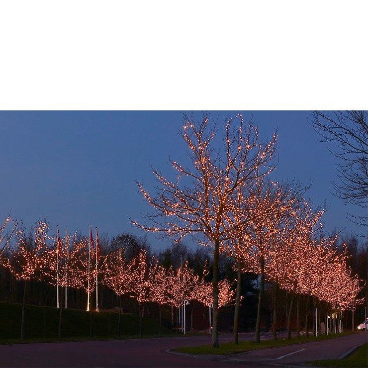 Sirius Lichterkette Tech-Line Erweiterung 45 LED warmweiß 230V 4,5m schwarz - Pic 5