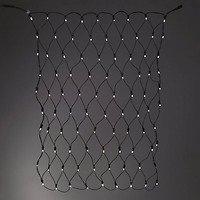 Sirius Lichternetz Tech-Line 196 LED warmweiß 230V 3 x 3m schwarz