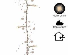 Kaemingk Perlengirlande 30 LED weiß 1,8m innen