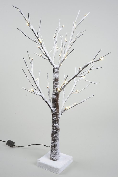 Kaemingk LED Baum beschneit 60cm außen 36 LED - Pic 1