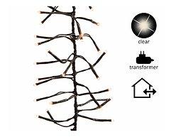 Kaemingk Büschellichterkette 1152 Lämpchen außen 7,7m schwarz