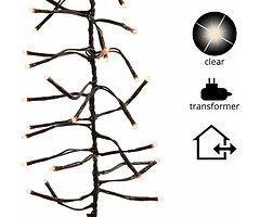 Kaemingk Büschellichterkette 1152 Lämpchen außen 7m schwarz