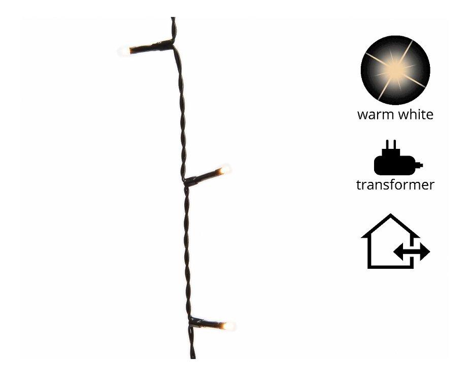 Kaemingk Lichterkette mit Dimmer 360 LED warm weiß 27 m außen schwarz - Pic 1