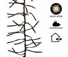 Kaemingk Büschellichterkette 1512 LED außen 13,5m schwarz