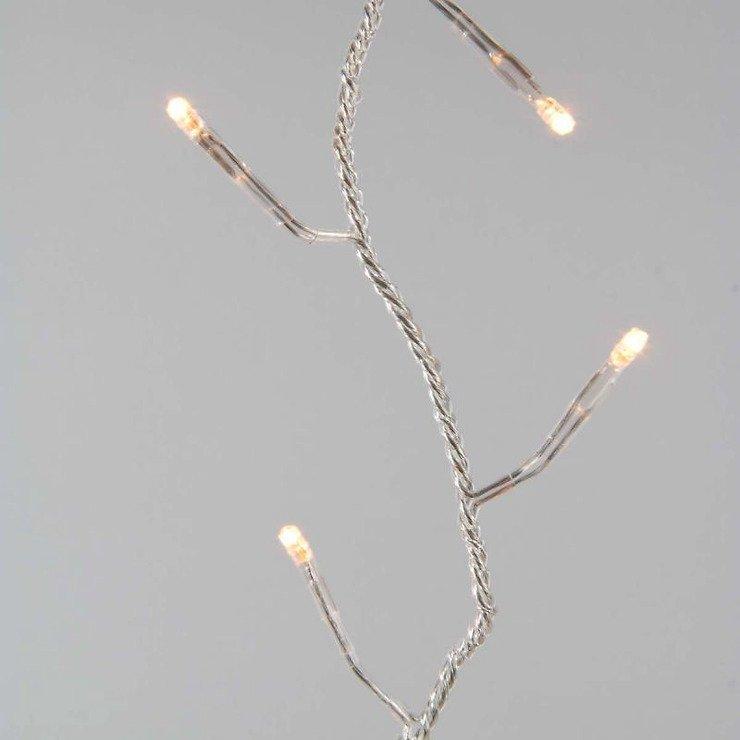 Kaemingk Lichterkette Ricelight 48 LED Batterie außen 3,5m transparent - Pic 2