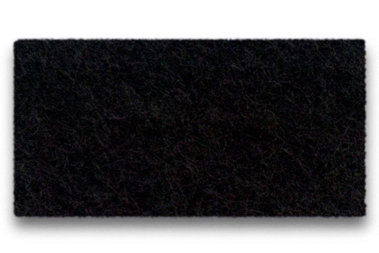Hey-Sign Sitzauflage Eames Plastic Armchair Antirutsch Filz schwarz