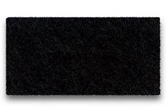 Hey-Sign Sitzauflage Eames Plastic Sidechair Filz Antirutsch schwarz