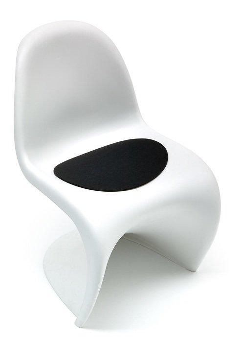 Hey-Sign Sitzauflage Filz Panton Chair hellmeliert Antirutsch - Pic 2