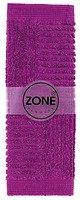 Zone Handtuch Waschlappen CONFETTI 30x30cm lila