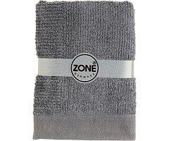 Zone Badehandtuch Confetti 140x70cm grau