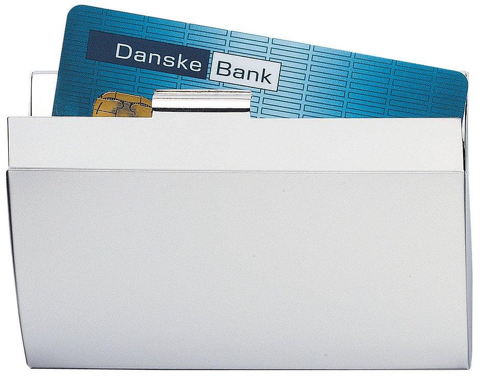 Zone Kreditkartenhalter Edelstahl - Pic 1