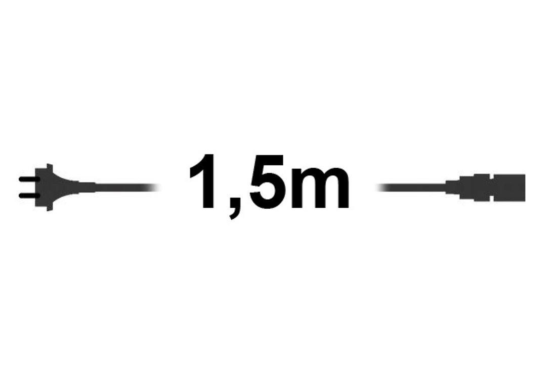 Sirius Lichterketten Zuleitung tech-line Start 1,5m 230V schwarz - Pic 1
