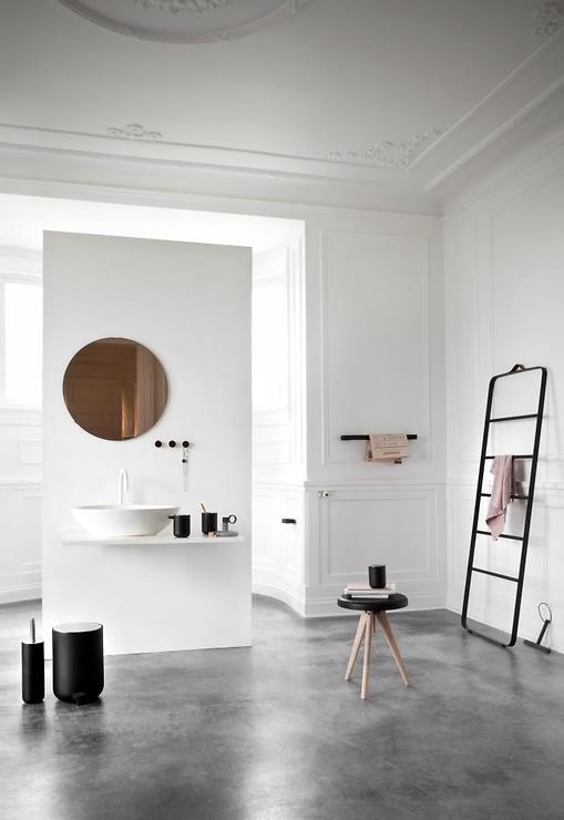 Menu Toilettenpapierhalter Norm Bath schwarz - Pic 2